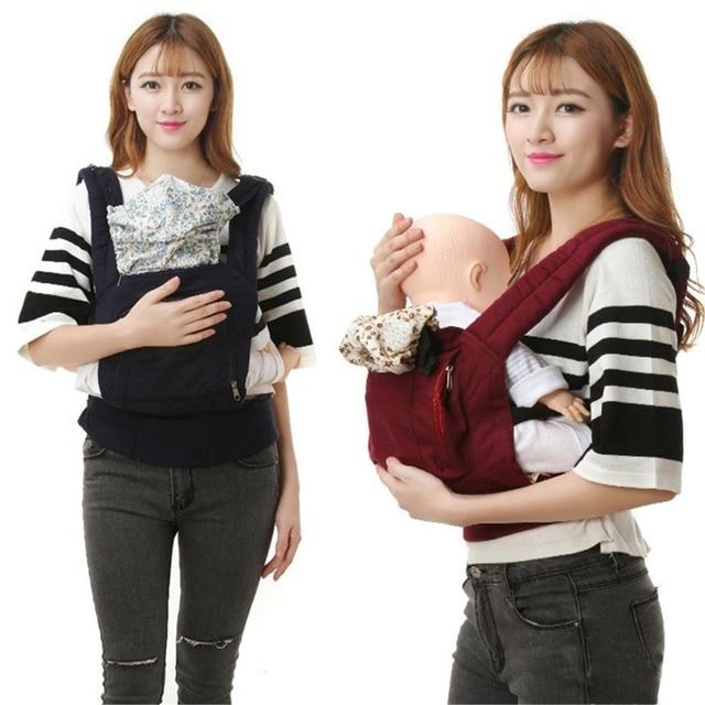 Portable Backpacks for Carrying Children Infant Carrier Wrap Cotton Manduca Ergonomic Baby Carrier 360 Kangaroo Baby Bag