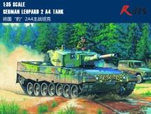 RealTS HobbyBoss MODEL 1 35 SCALE military models 82401 German Leopard 2 A4 tank plastic model