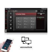 Android 6.0 2 din car radio 6.95 inch HD Touch Screen Quad Core 32GROM GPS NAVI MP5 SD/FM/MP4/USB/AUX/Bluetooth Car Audio