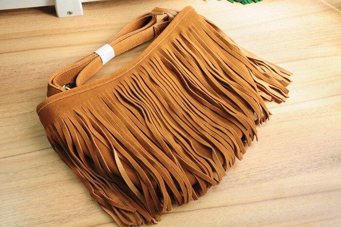 genuine leather fringe tassel bags women shoulder crossbody bag women's handbags bag (12)