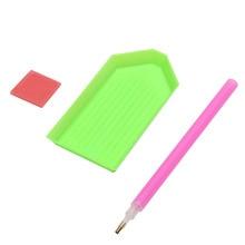 1 комплект функциональный DIY Вышивка крестиком Картина Алмазная вставка набивная ручка Ремесленные Инструменты Наборы