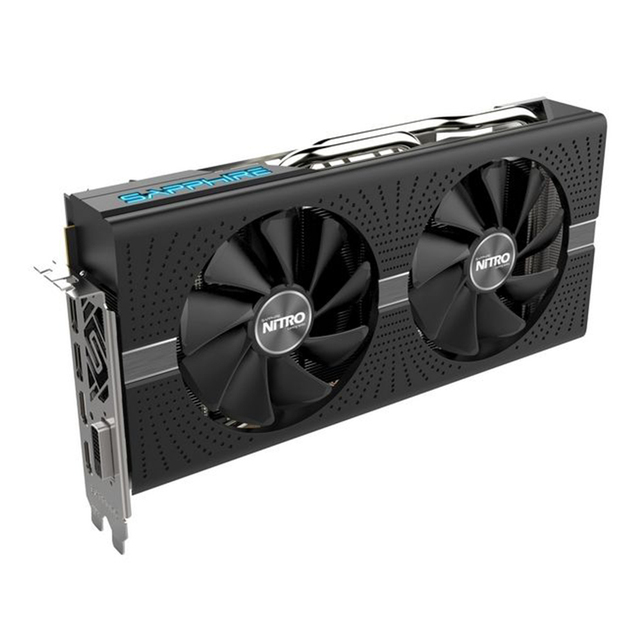 SAPPHIRE Graphics card NITRO Radeon RX580 8G  256bit AMD GDDR5 8000MHz 1411MHz DirectX 12 2304units video card for Gaming 2