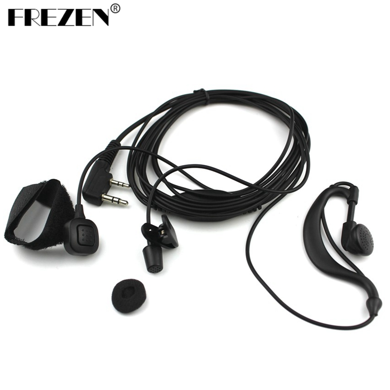 Ear Bar Earpiece Mic Headset PTT for Baofeng UV5R BF-888S UV5RE Plus UV5RA Plus