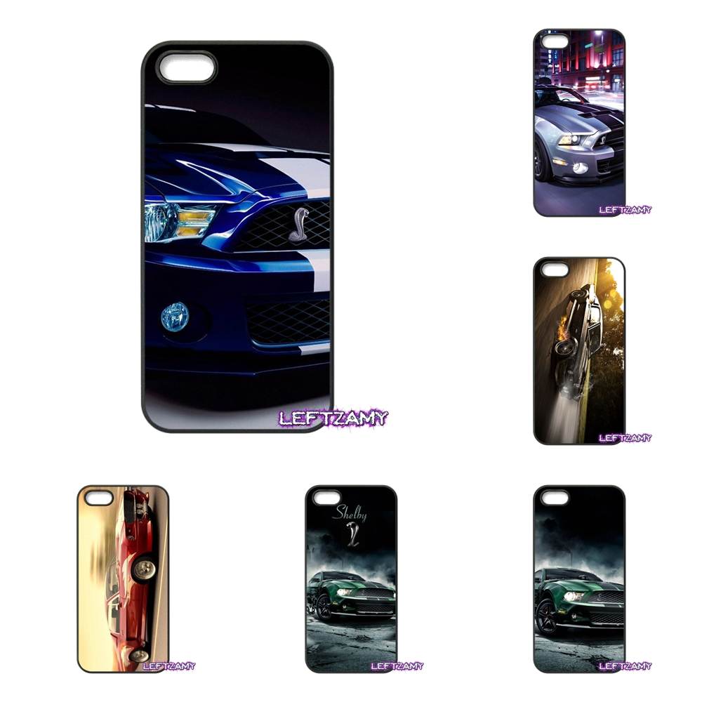 Ford Mustang S Shelby Hard Phone Case Cover For iPhone 4 4S 5 5C SE 6 6S 7 8 Plus X 4.7 5.5 iPod Touch 4 5 6
