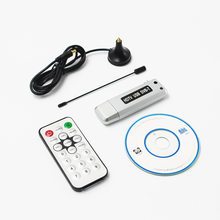 Digital DVB-T TV Stick HDTV TV Stick Tuner Receiver Recorder TV Radio with Antenna with Remote for Laptop tablet pc network(China)