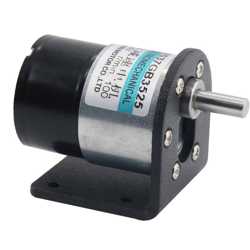 37 DC Brushless Gear Motor 12V DC Motor 24V Slow Motor Miniature Brushless Speed Control Motor zga37ree 37mm miniature dc gear motor adjustable speed motor reversing 12v 24v 5rpm 350rpm