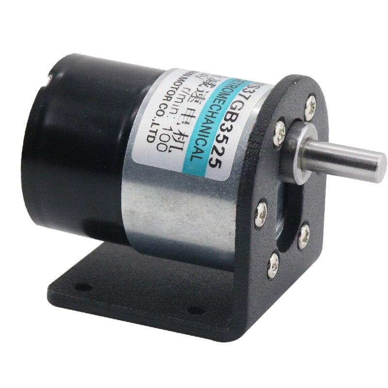 37 DC Brushless Gear Motor 12V DC Motor 24V Slow Motor Miniature Brushless Speed Control Motor