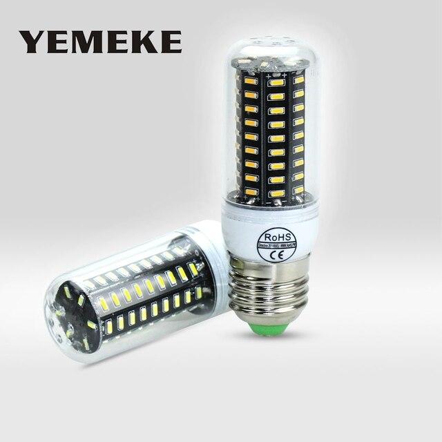 E14 / E27 Led Bulbs Lamps 38-140Leds AC220V 230V 240V High Power Remon Led Lights No Flicker Design Lamapada Lighting 1PCS