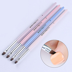 BORN PRETTY UV Gel Brush Round Handle Brush Liner Nail Cuticle Cleaning Tools Powder Dust Clean Pen Painting Draw Manicure