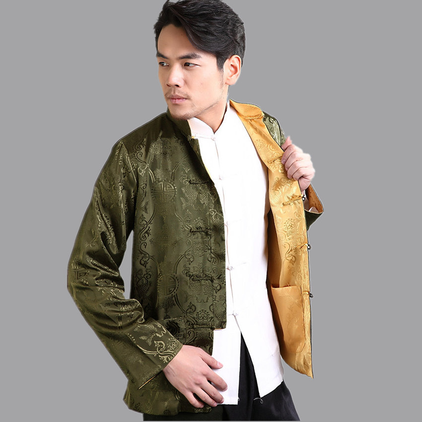 Popular Silk Jackets Men-Buy Cheap Silk Jackets Men lots from ...