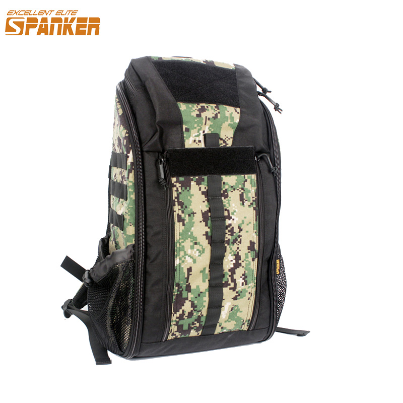 EXCELLENT ELITE SPANKER Outdoor Tactical MOLLE Medical Backpack Waterproof Tactical Camouflage Bags Military Hunting Backpack excellent elite spanker outdoor military shoulder bag men s tactical molle waterproof bags hunting sports nylon camouflage pack