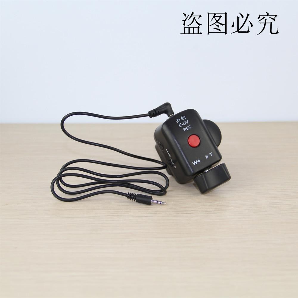 Kamera kontrolerów kamery DSLR Pro Zoom sterowania dla Sony LANC A1C 150 P, dla Panasonic 130AC DV ACC pilot zdalnego w Przycisk wyzwalania migawki od Elektronika użytkowa na  Grupa 1