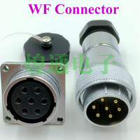 2sets For WEIPU WF28 Series 4 7 17 20 24 Pin Aviation Plug Socket Connector Male
