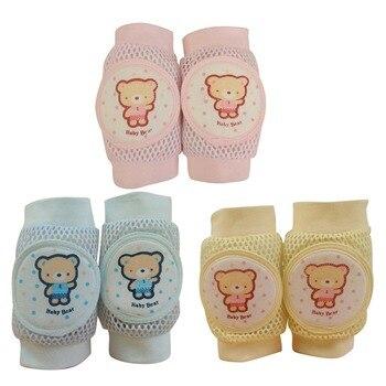 Rodilleras infantiles de bebé Joelheira, rodilleras de gateo para recién nacido, rodilla para bebé, bebé Nakolanniki Dzieci Polainas