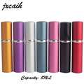 XYZ Hot Sale Mini Portable For Travel Aluminum Refillable Perfume Bottle With Spray&Empty Cosmetic Containers With Atomizer