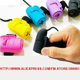 Freeshipping_20pces/lotFinger mouse.1200DPI USB 2.0 Mini 3D Optical Finger Mouse Ring Mouse Lazy Mouse