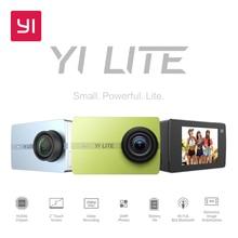 YI Lite Ação 16MP Câmera Real 4 K Câmera de Esportes com WI-FI embutido 2 Polegada Tela LCD 150 Graus Wide Angle lente