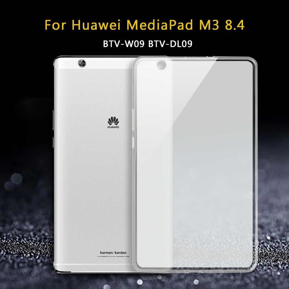 Чехол для планшета huawei Mediapad M3 8,4 BTV BTV-DL09/M3 Lite 8,0 10/Медиа Pad M2 M2-801L M2-801W/M2 Lite силиконовый чехол из ТПУ