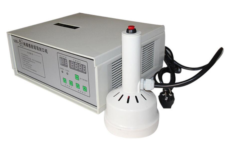 220 V tenuto in Mano induzione elettromagnetica di tenuta della macchina per il medico di plastica sigillante tappo di bottiglia di Alluminio macchina capsulatrice - 2