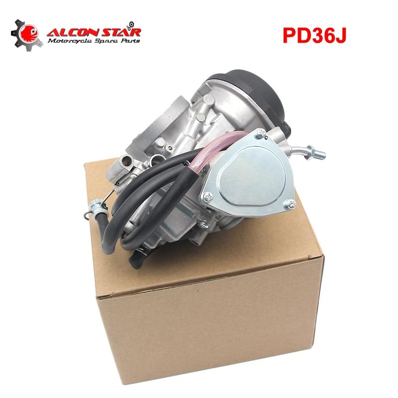 Alconstar-36mm PD36J Motorcycle Carburetor Carburador Carb for Quad ATV KFX 400 KFX400 2003~2006 UTV LTZ400 LTZ400 Raptor 400