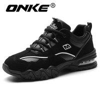 Bonne Qualité D'hiver Sneakers pour Hommes Femmes Imperméables Chaussures de Course Super Chaud Bottes Coussin de Sport Chaussures de Marche Zapatillas