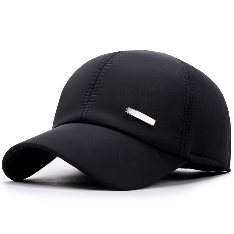 Men and women large size outdoor breathable classic baseball cap