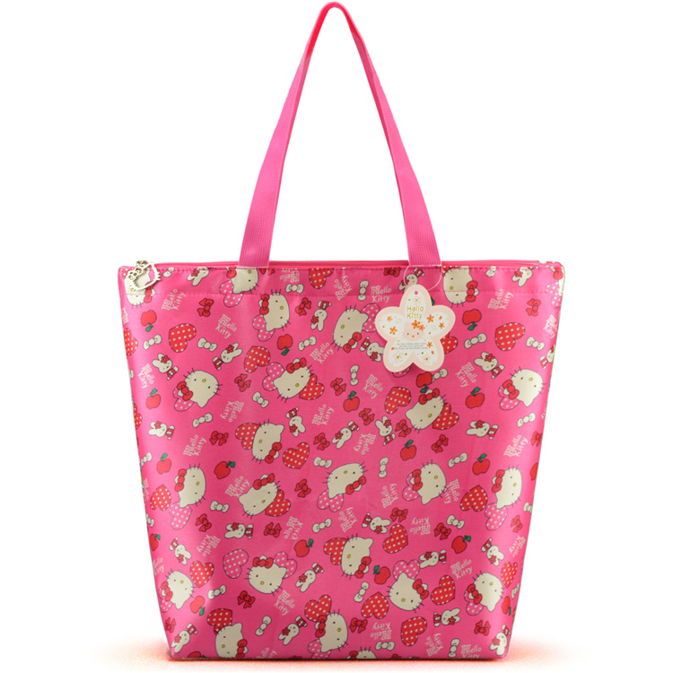 2717ce23b314 Brand fashion Handbag Silicone jelly bag Boutique tote Hello kitty bag  transparent Lovely girl bag Casual Clutch shopper bag-in Shoulder Bags from  Luggage ...