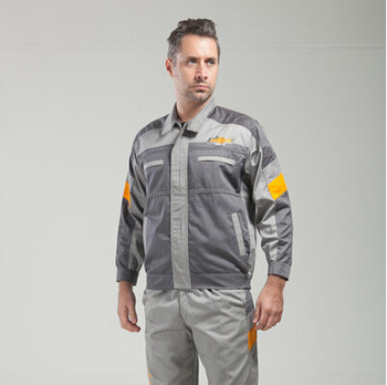 Set of Coat+Pants Chevrolet 4S shop work wear male set spring and autumn tooling uniform
