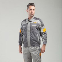 Set of Coat+Pants Chevrolet 4S shop work wear male set spring and autumn tooling uniform(China)