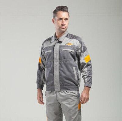 Set of Coat+Pants Chevrolet 4S shop work wear male set spring and autumn tooling uniform