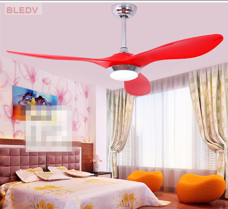 High Quality Ceiling Fan With Remote Control Special: 2017 High Quality American Creative LED Ceiling Fans