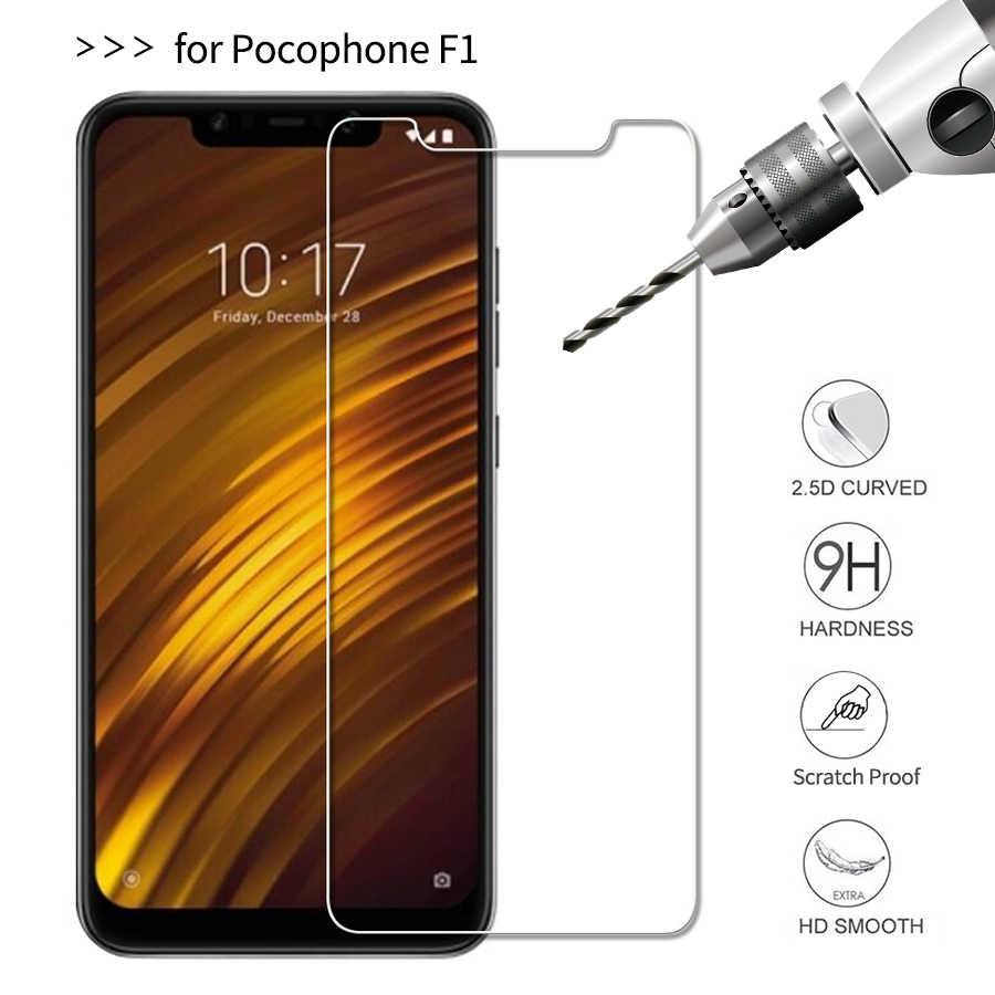 Szkło hartowane dla Xiao mi Pocophone F1 folia ochronna dla Pocophone F1 folia ochronna szkło mi Pocophon F1 F 1 wersja globalna