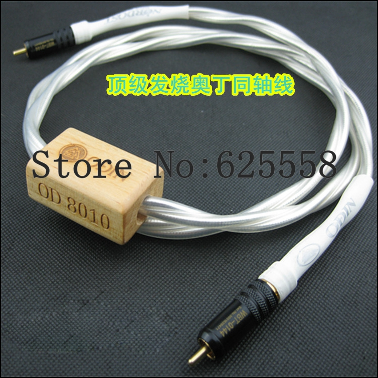 Free shipping NORDOST Odin Reference 75Ohm Digital Coaxial Audio Copper plated Gold RCA cable 2M extension cable free shipping viborg usb001 odin interconnect usb cable with a to b plated gold connection usb audio digital cable