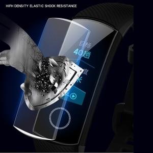 Image 2 - VSKEY 100 sztuk miękkie osłona na ekran z TPU dla Huawei Honor dyskusja zespół 4 5 3 2 A2 ERIS ochraniacz ekranu smart watch ochronne film