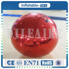 Free Shipping 1.5m Diameter 0.3mm PVC inflatable Mirror Ball For Xmas Party/ New Year/Wedding