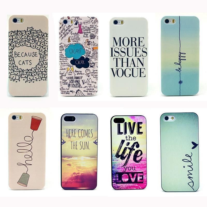 Life style be happy retro design pc cellphone case trendy for Case design