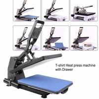 ST 4050A 40x50 CM Hydraulic Sublimation Printer automatic Heat Press Machine T shirt Printing Machine Bag/Puzzle/Rock/Glass