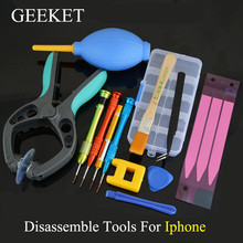 GEEKET Disassemble Repair Tools For Iphone 7plus/7/6s plus/6s/6 plus/6/5s/5 Replace Back Cover Case Repair Parts For Iphone