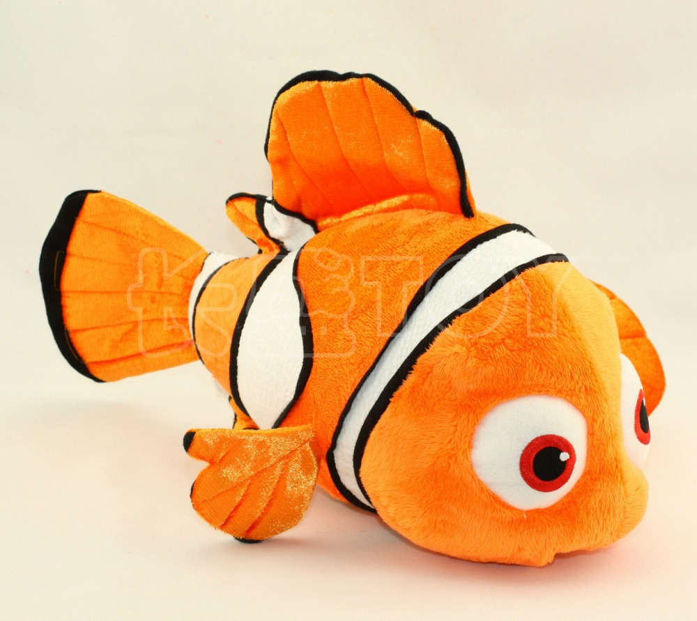 Image gallery orange fish plush for Fish stuffed animals