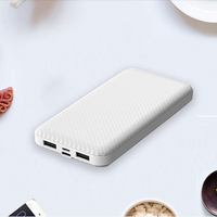 10000mAh Power Bank Portable Charging Powerbank 10000 Slim Poverbank External Battery Pack Charger For Xiaomi Mi 9 iPhone