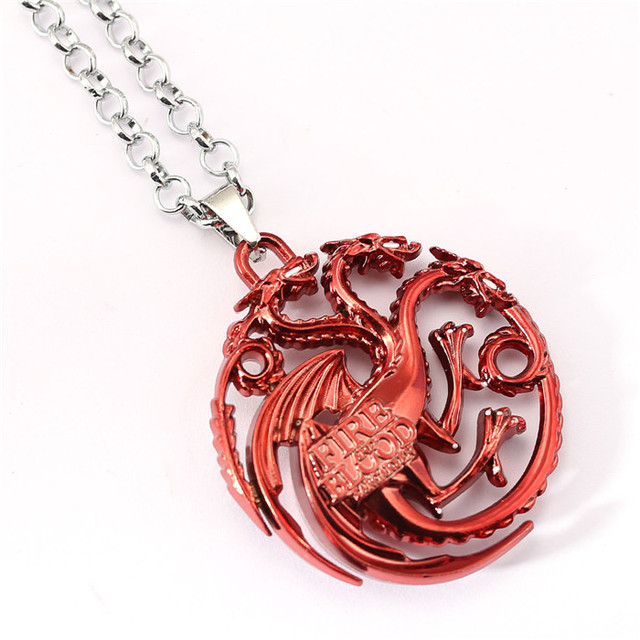 Nine Styles Game of Thrones Metal Alloy Pendant Jewelry