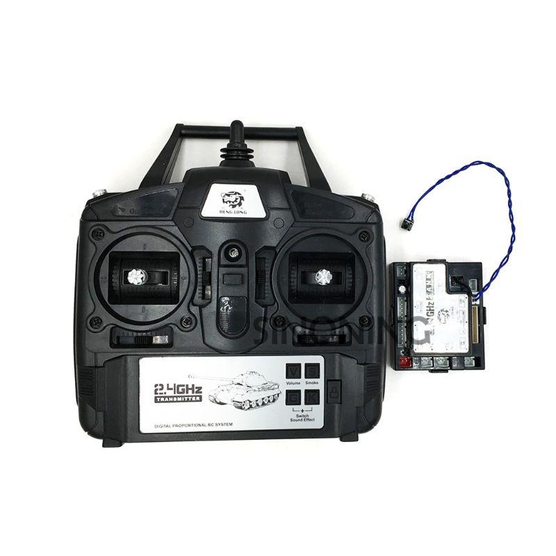 2 4GHz 5 3 Version 1 16 Controller Transmitter Remote Control Set For Heng Long RC