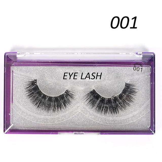 3e64ceaa6c4 4pcs/Pair Magnetic Magnet Eyelashes Eye Makeup Kit Thick Good Quality 3d  Mink Magnetic False Eyelashes Dropship