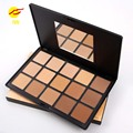 MISS ROSE 15 Colors Loose Pressed Powder Palette Face Makeup Eyes Nude Camouflage Concealer Professional Foundation Cosmetics