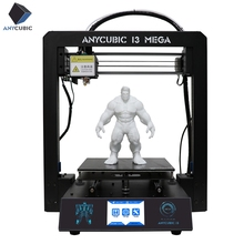 ANYCUBIC 3D Imprimante I3 Mega Impresora 3D Kit Full Metal Cadre Grand Impression Plus La Taille Écran Tactile 3D Drucker Imprimantes utilisé(China)