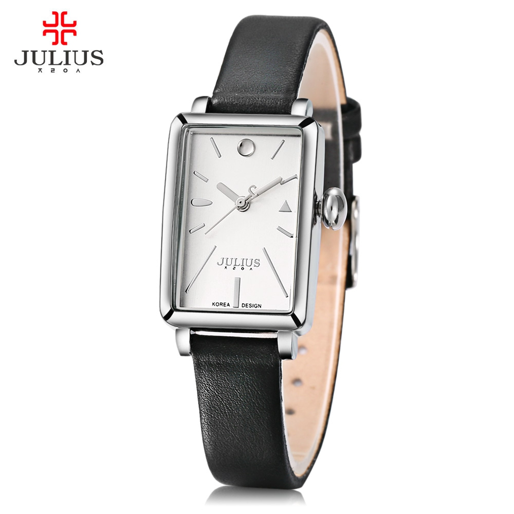 JULIUS JA 941 Women Quartz Concise Dial Watch Fashion Woman Wrist Watch