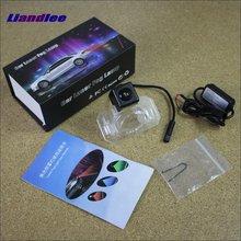 цена на Liandlee Anti Collision Laser Fog Lights For Honda Fit Sedan 2006~2012 Car Rear Distance Warning Alert Line Safe Drive Light