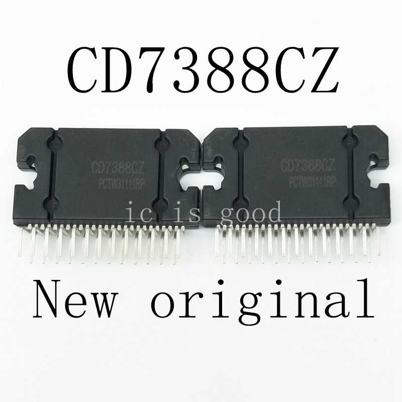 2 Pz/lotto CD7388CZ YD7388 7388 Zip-25 Automobile Blocco Amplificatore di Chip Ic Nuovo in Azione