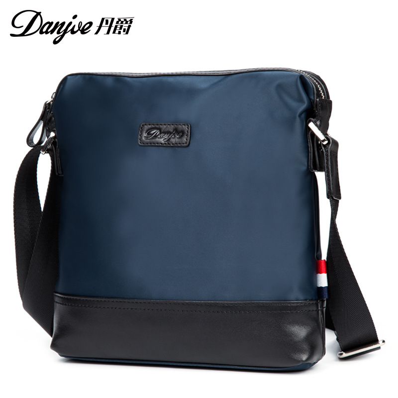 ФОТО Water-proof Oxford Assorted Colors Male Crossbody Bag Facility Black Blue Shoulder Bag Bag Casual Travel Mini Bag
