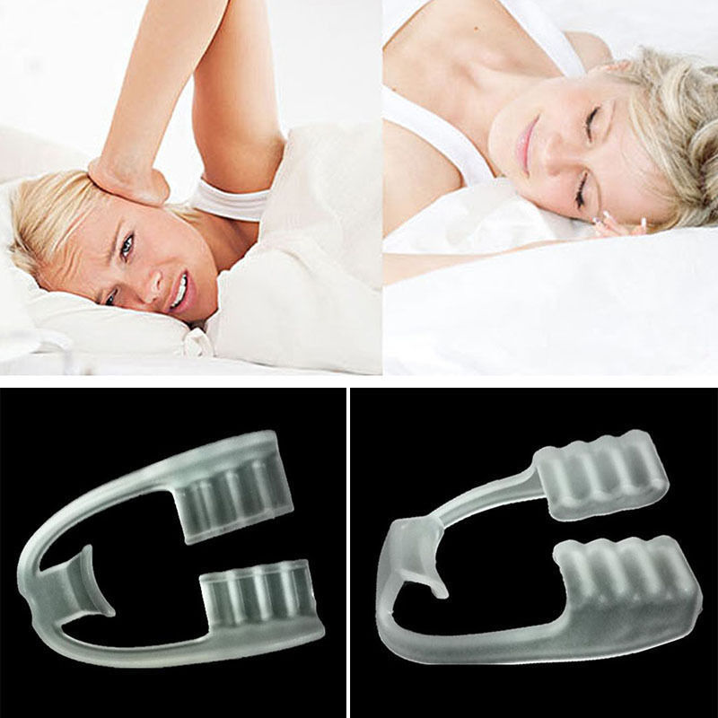 Pro Dental Mouth Guard Stop Teeth Grinding Bruxism Eliminate Clenching Sleep Aid